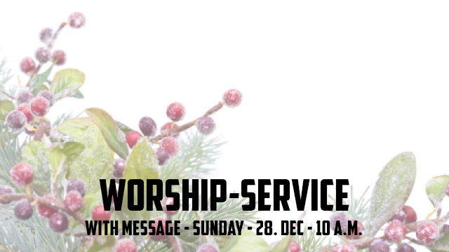 Worship Service with Message
